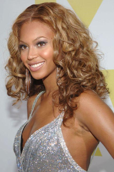 Curly Hairstyles - Beyoncé