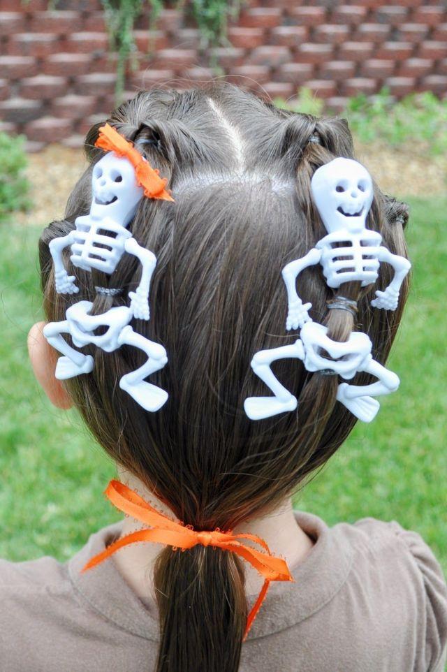 8 halloween hair ideas for kids - easy halloween hair
