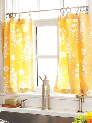 make kitchen curtains diy cafe curtains