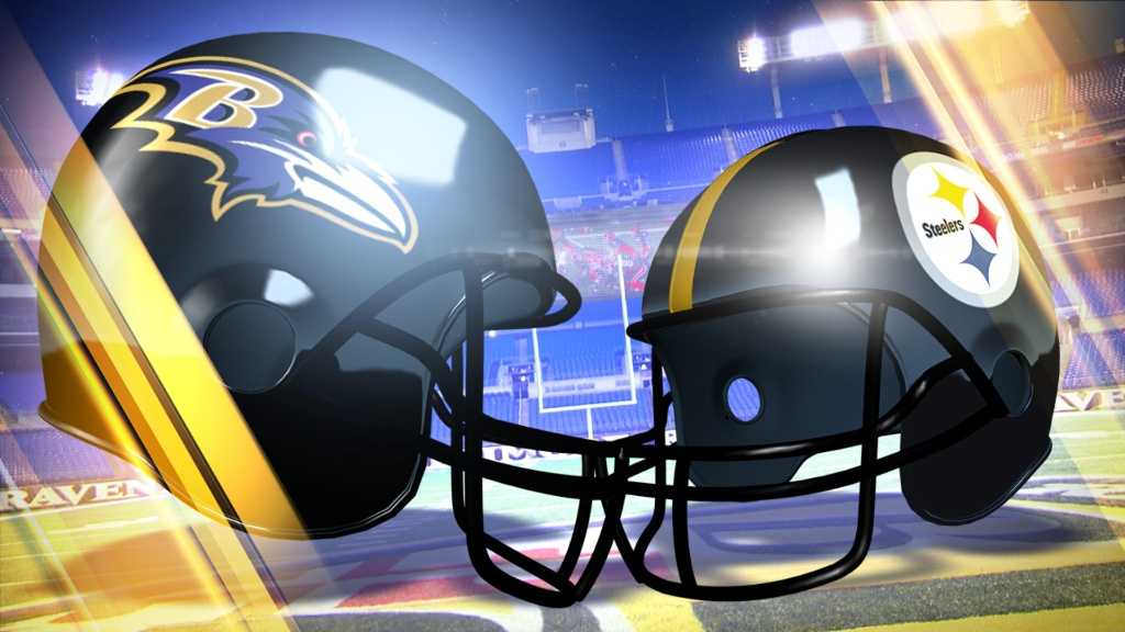 Image result for Ravens vs. Steelers