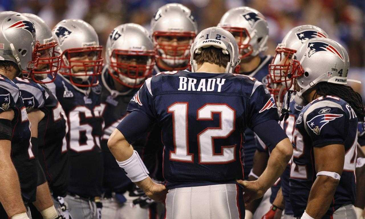 Image result for tom brady huddle