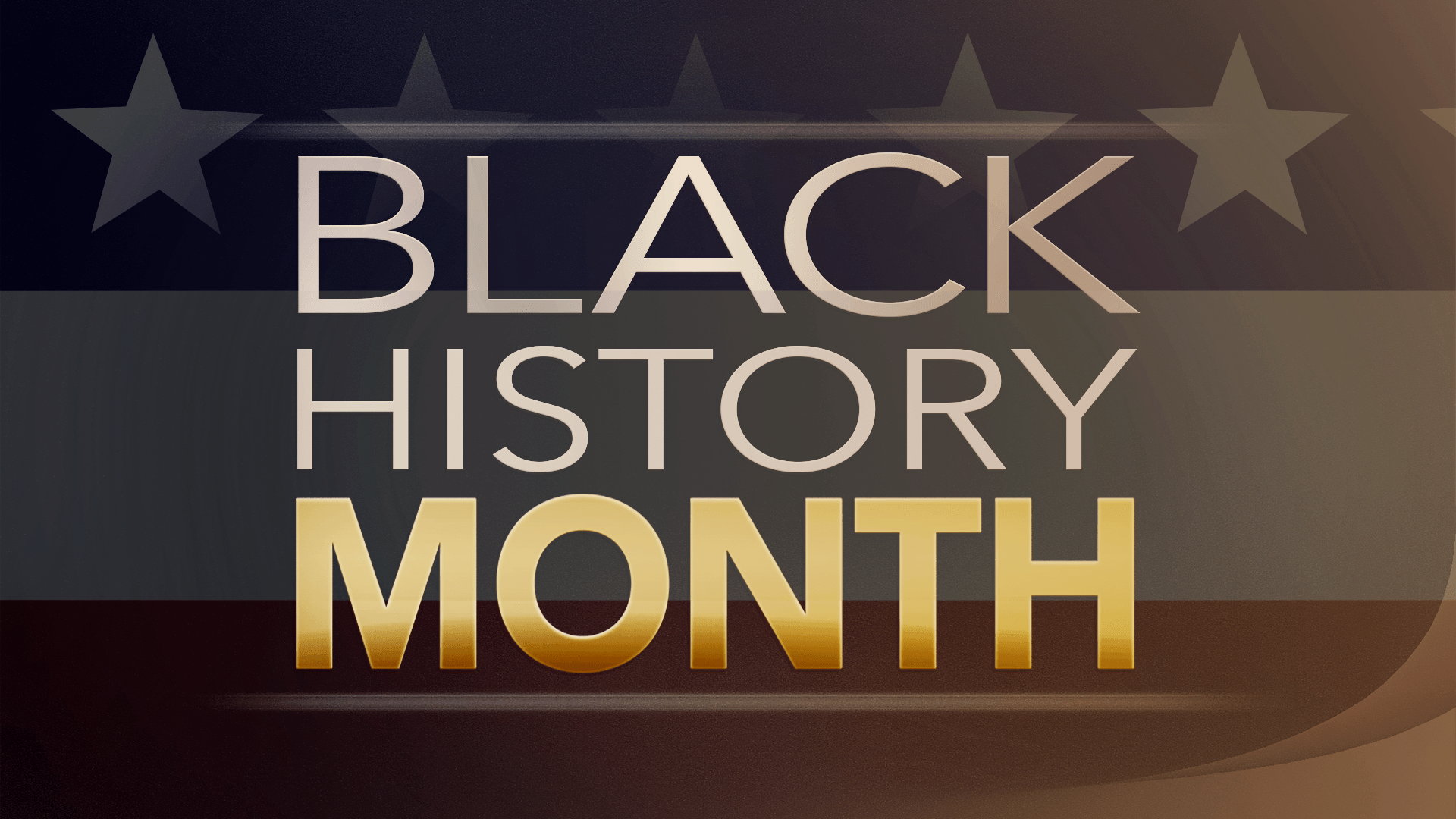 Template Month History Powerpoint Black