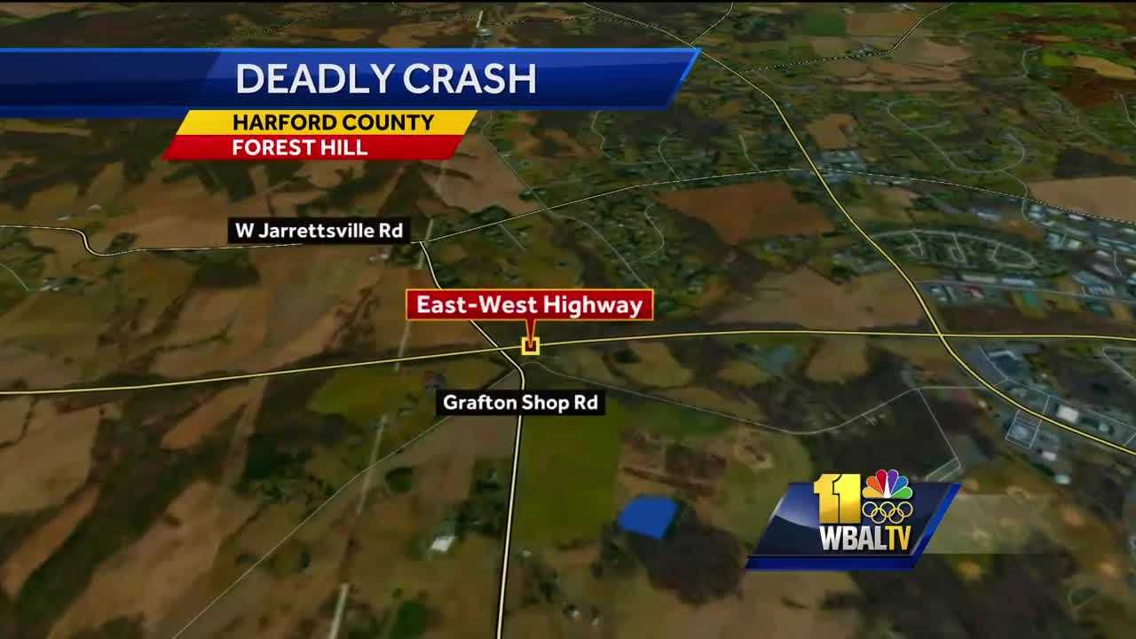 Woman killed in chain-reaction crash in Harford County