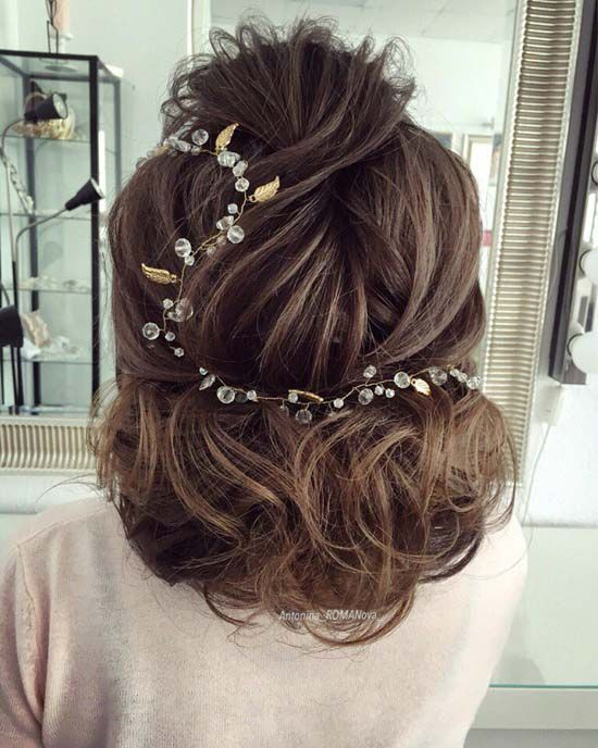 Best Ideas For Wedding Hairstyles  long curly wedding