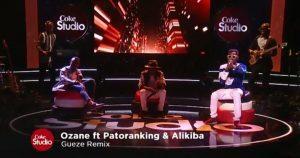 Photo of Ozane Ft. Patoranking & Alikiba – Gueze (Remix)