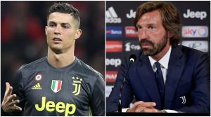 Juventus Manager, Pirlo Makes Promise To Ronaldo
