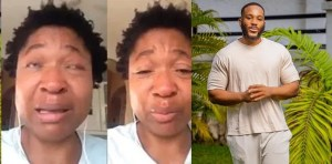 BBNaija 2020: Kiddwaya's Mom Breaks Down In Hot Tears As She Begs Fans To Vote For Her Son