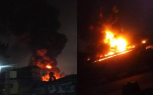 Fire Guts INEC Headquarters In Ondo
