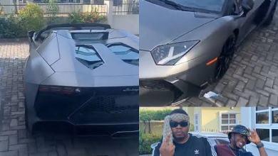 Photo of Is Olamide Challenging Otedola? Olamide Embarrasses Otedola, Buys N218m Lamborghini Aventador Quietly!