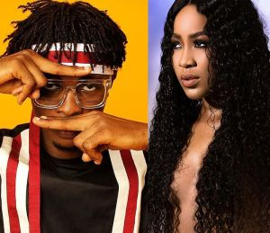 """BBNaija: """"Cheers To Erica"""" – Laycon Proposes A Toast To Erica"""