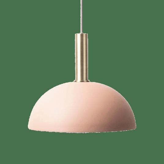 Erin Pendant Lamp - Brass, Pink - 0