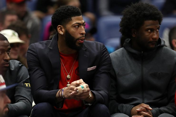 Pelicans Plan To Reduce Anthony Davis' Playing Time