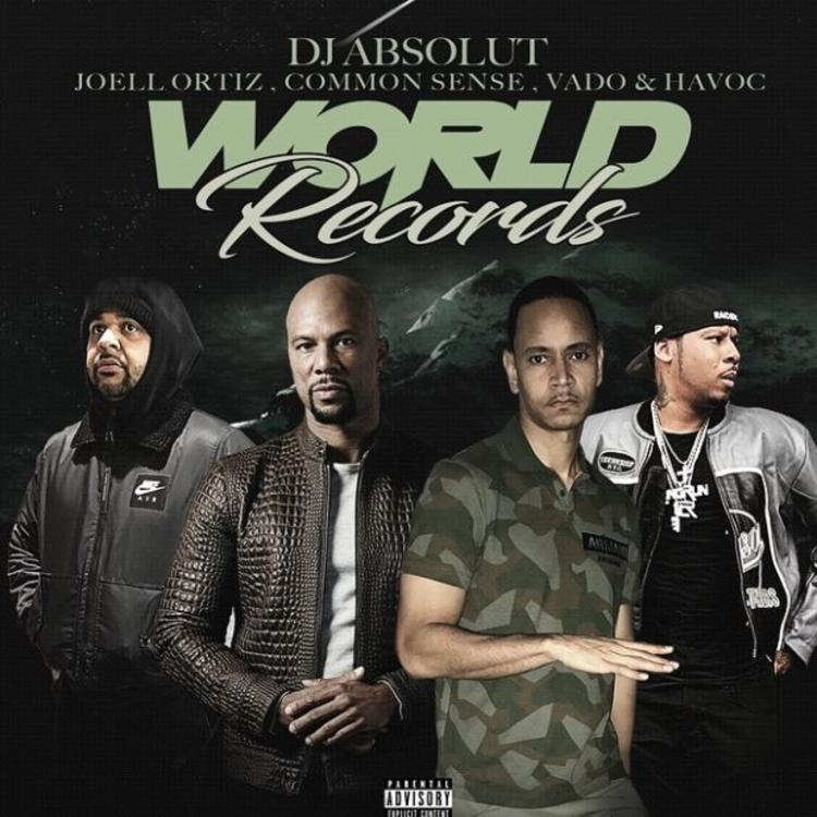 "Common, Joell Ortiz, Vado & Havoc Connect On DJ Absolut's ""World Records"""