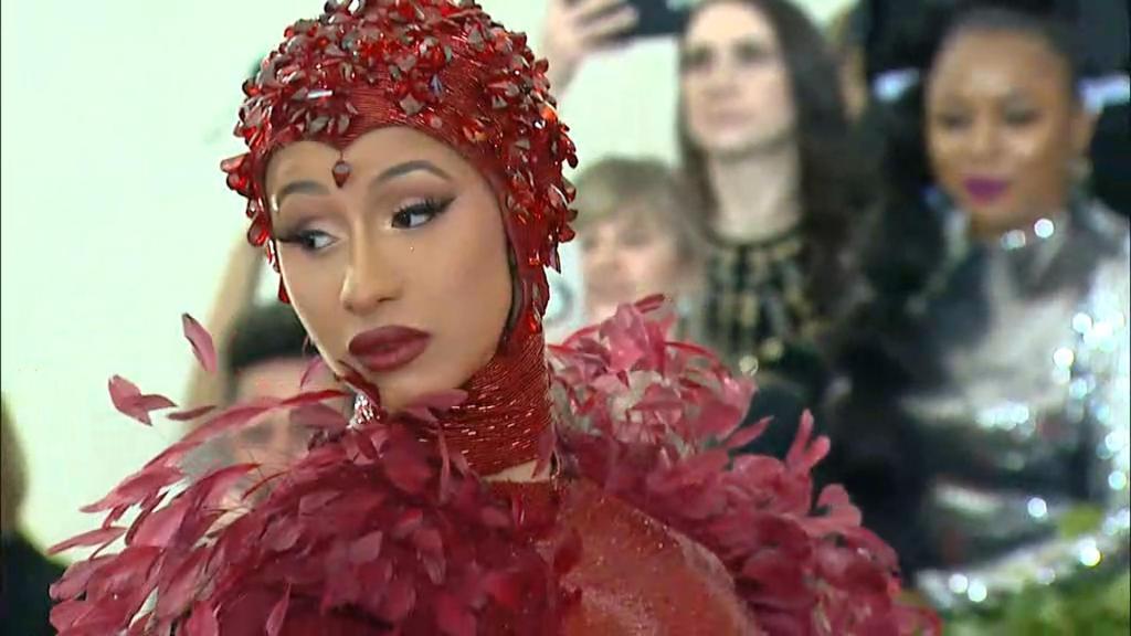 Cardi B's Met Gala Ruby Nipples Cost $500,000 Alone
