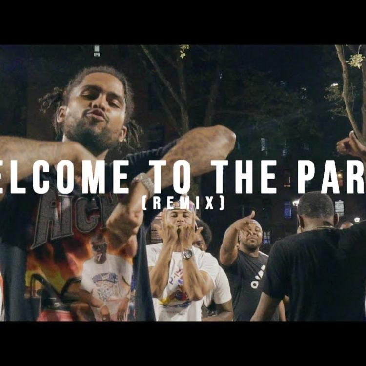 Dave East – Welcome To The Party [REMIX] Ft Kiing Shooter (Audio)