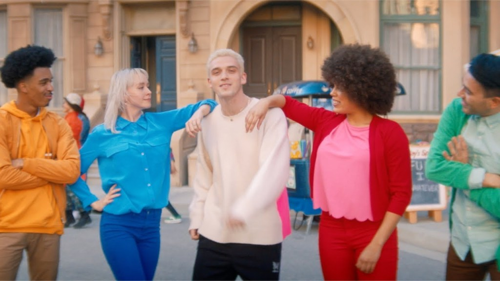 Lauv Tattoos Together video