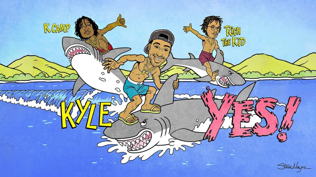 KYLE – Yes ft. Rich The Kid & K CAMP (Audio)