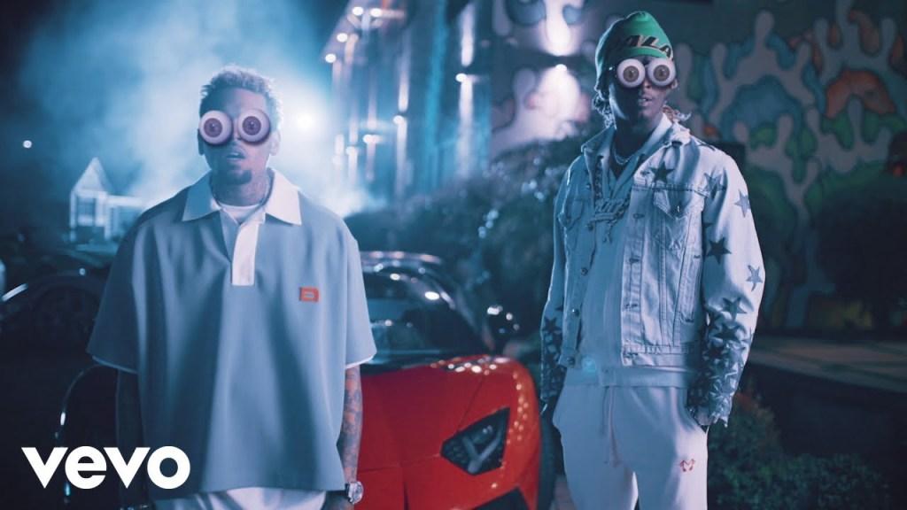 Chris Brown Go Crazy video