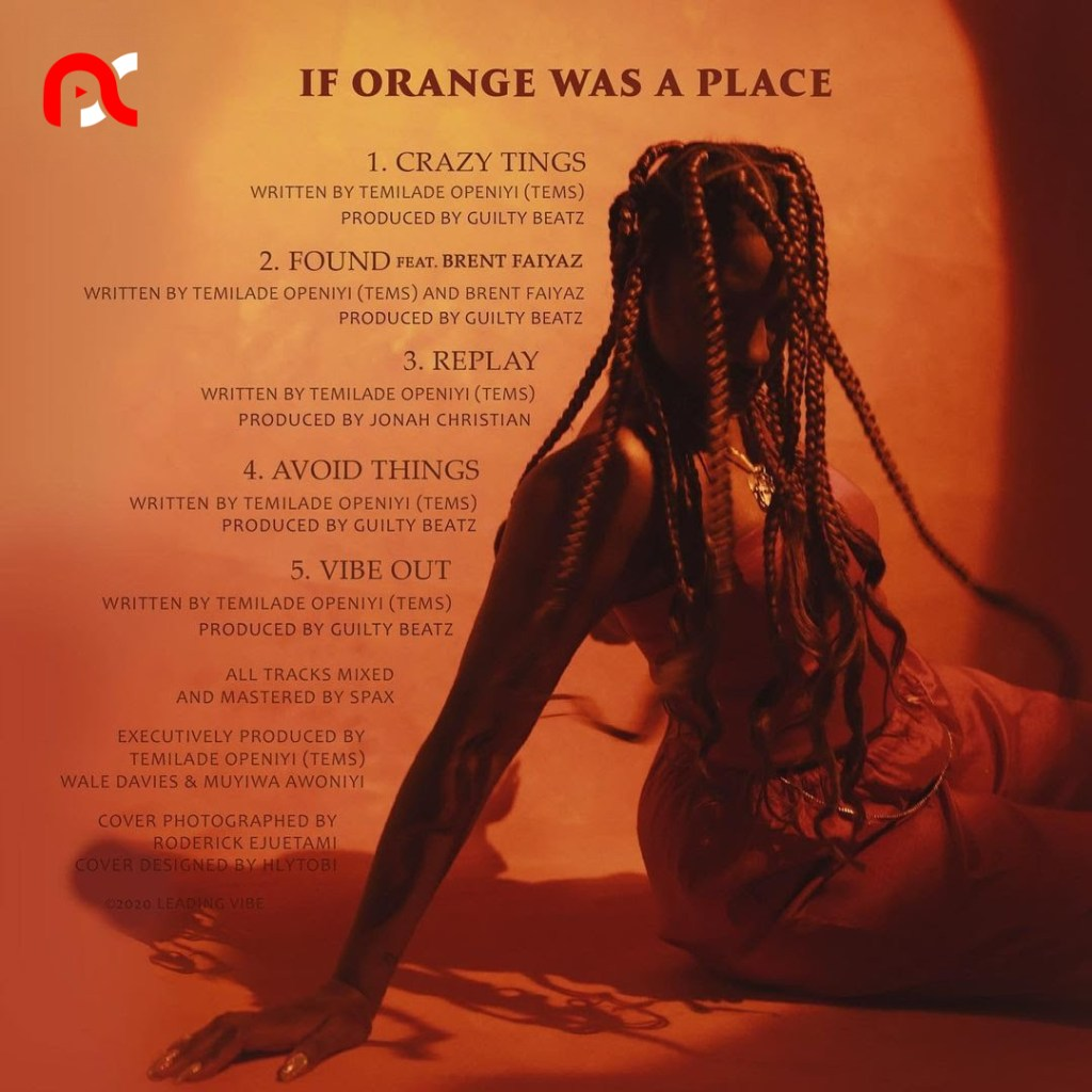 If Orange Was A Place EP