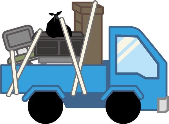 不用品回収のトラック