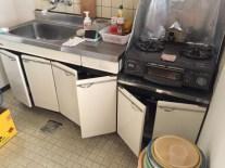 モノが少ないキッチン 作業前