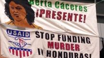 (Video)The blood shedder: US links to murder of Honduran environmental activist surface