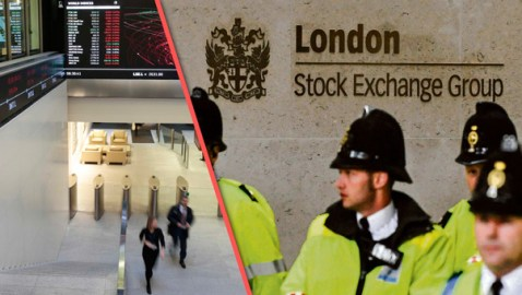 Elite Banker Jumps from London Stock Exchange Building with a Chilling Warning