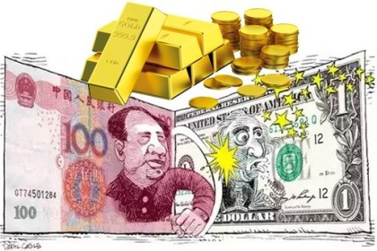 Forex currency futures are actively traded in what currency