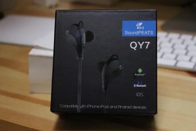 【レビュー】『SoundPEATS』から『Bluetooth イヤホン  QY7』がキターー!!