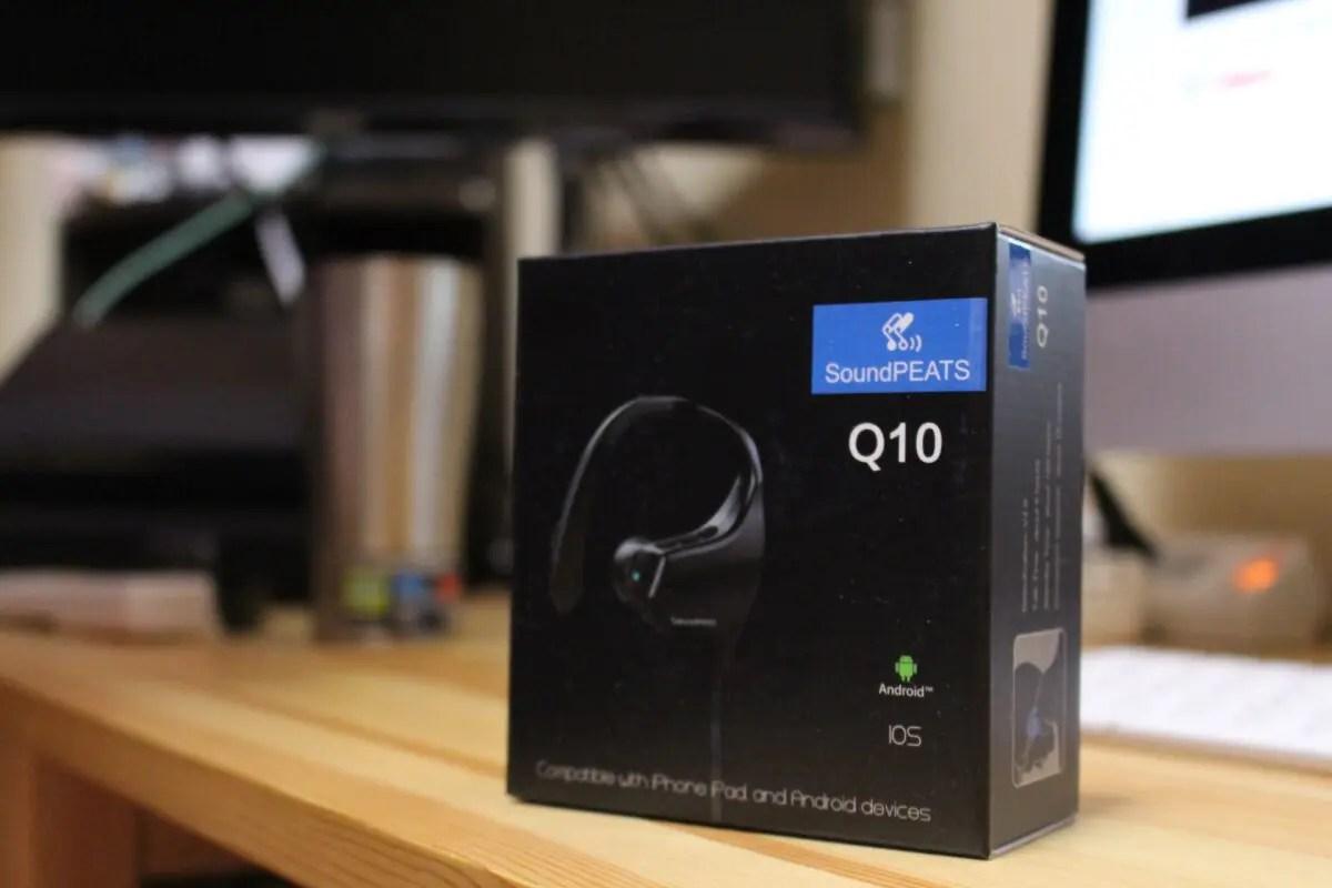 【レビュー】『SoundPEATS』から『Bluetooth スポーツ仕様 ワイヤレスイヤホン Q10』がキターー!!