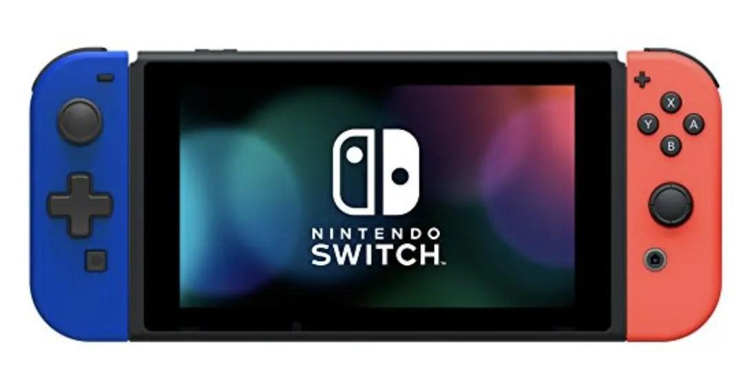 Nintendo Switch!携帯モード専用「十字コン」が登場する!?
