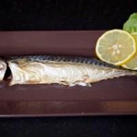 Yakisaba eli (uunissa) grillattu makrilli