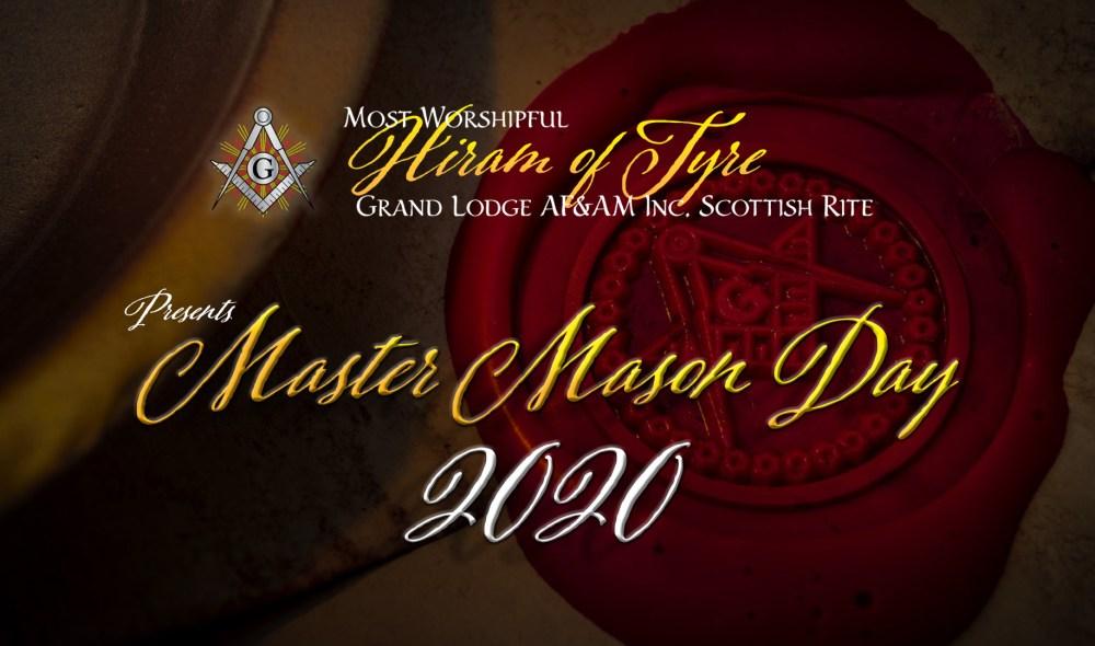Master Mason Day 2020