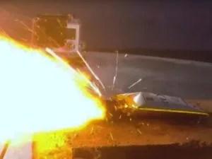 燃えるLi-ion電池