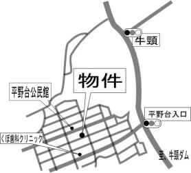 現地案内地図(土日見学会有)