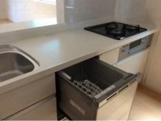 現地写真、キッチン食洗器