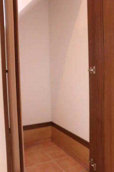 玄関にはシューズインクローク!