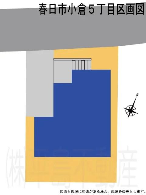 小倉5丁目1号棟2019.区画図