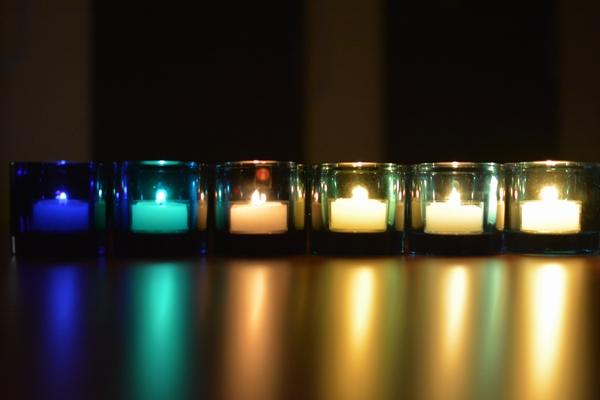 レインにキャンドルを灯す 夜