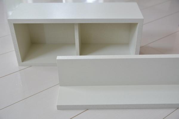 無印良品 壁に付けられる家具 ライトグレー