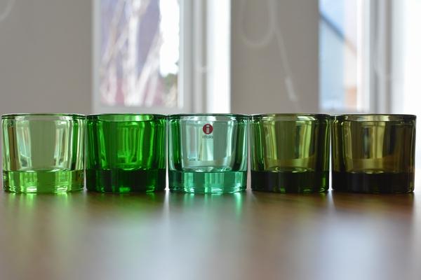 イッタラ kivi ライトグリーンとグリーン系