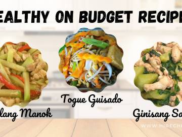 HEALTHY ON BUDGET RECIPES
