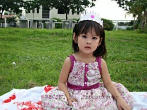 baby girl photo shoot
