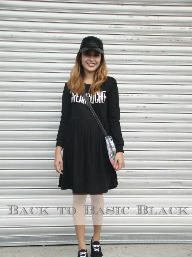 back to basic black