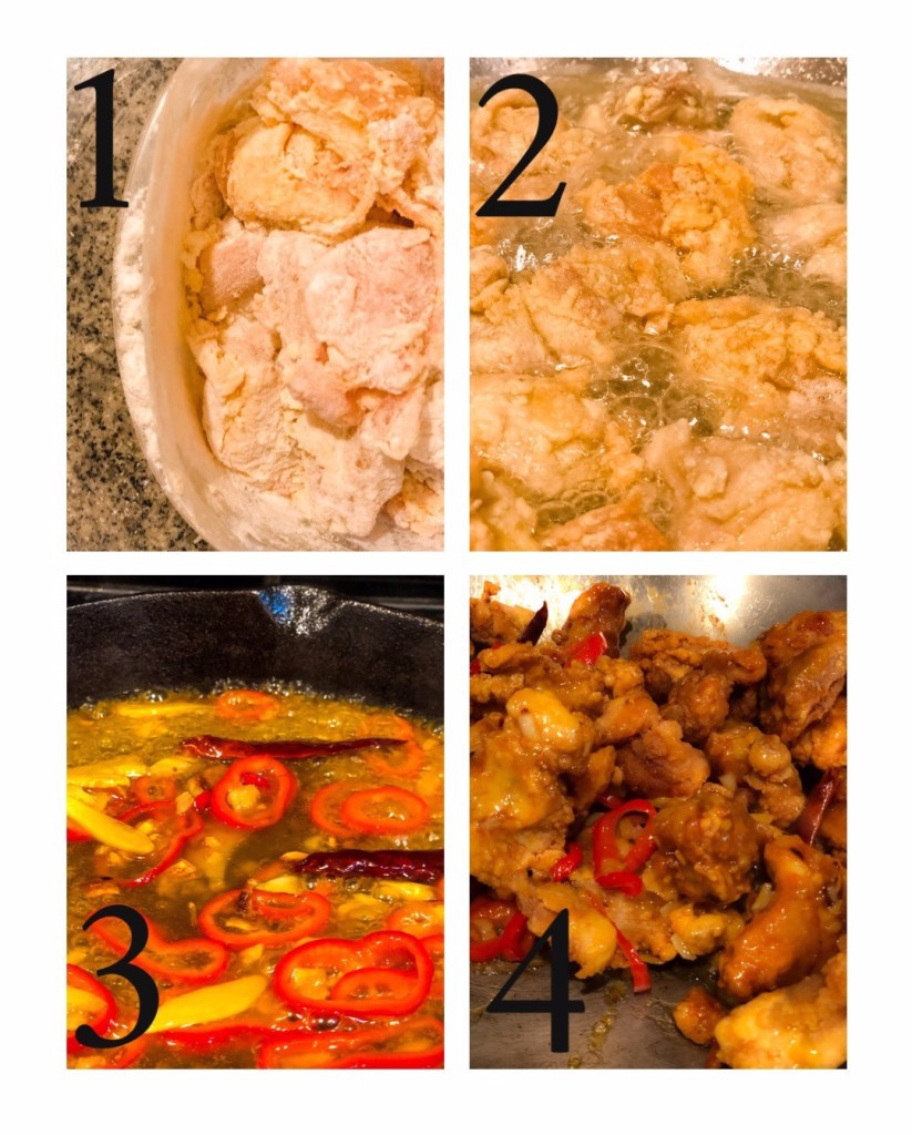 SWEET & SOUR CHICKEN WITH MANGO