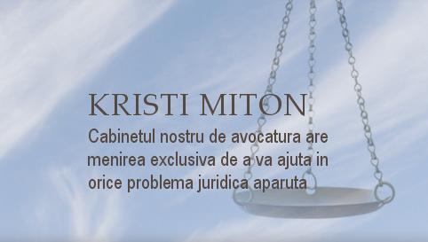 Cabinet Avocatura Miton Cristi