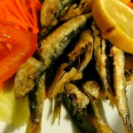 First Tastes of Portugal: Fried Little Fish and Tentacles
