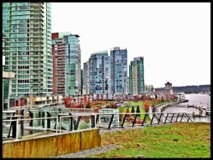 Plus, west side views of Coal Harbour, TP photo
