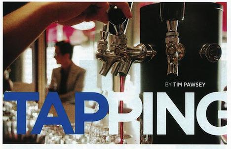 Wine on Tap, Tidings Magazine
