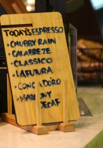 Milano espresso list: a superb daily lineup